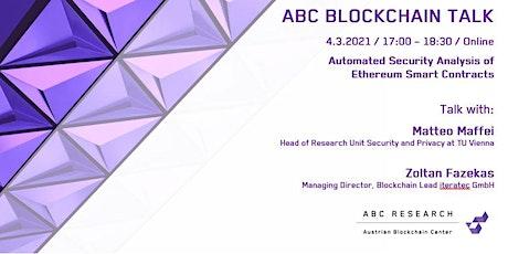 ABC Blockchain Talk #3 Tickets