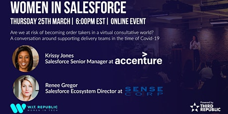 Women In Salesforce 4.0 biglietti