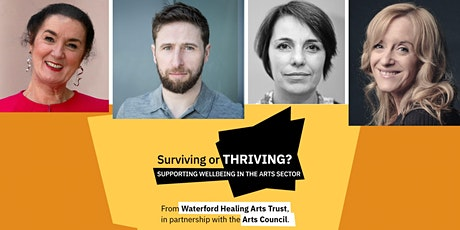 Surviving or Thriving? Supporting wellbeing in the arts sector: Theatre tickets