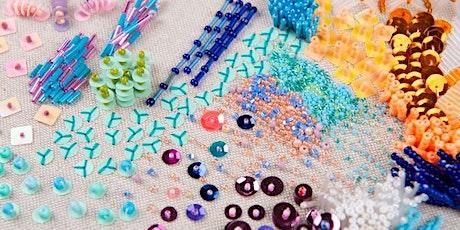 Beadwork Embellishment Workshop (Online) tickets