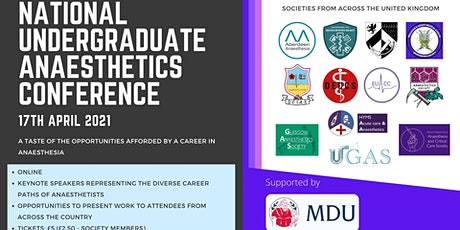 National Undergraduate Anaesthetics Conference 2021 tickets