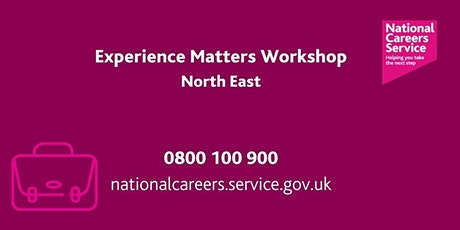Your Experience Matters – Mid Life Career Planning Workshop (North East) tickets