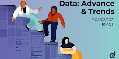 Data: Advance & Trends | Mesa redonda de expertas en el sector de los datos ingressos