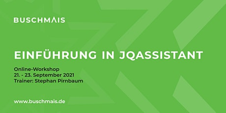 "Online-Workshop ""Einführung in jQAssistant"" Tickets"