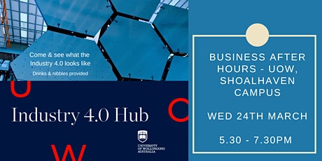 Business After Hours hosted by UOW Industry Hub 4.0 tickets