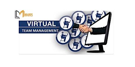 Managing a Virtual Team 1 Day Virtual Live Training in Dunedin tickets
