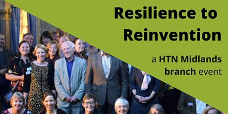 Resilience to Reinvention - A HTN Midlands virtual event tickets