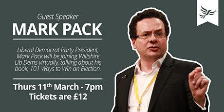 Mark Pack: 101 Ways to Win Elections tickets