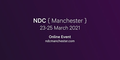 NDC Manchester 2021 | Conference for Software Developers biglietti