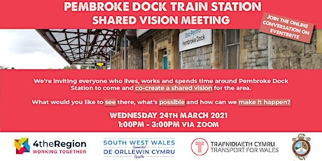 Pembroke Dock  - Shared Vision Meeting tickets