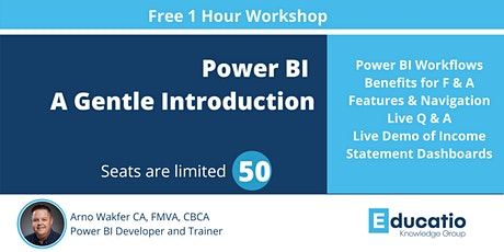 Free 1 Hour Power BI Workshop for Finance and Accounting Professionals tickets