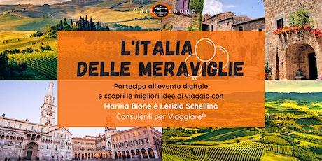 L'Italia delle Meraviglie biglietti