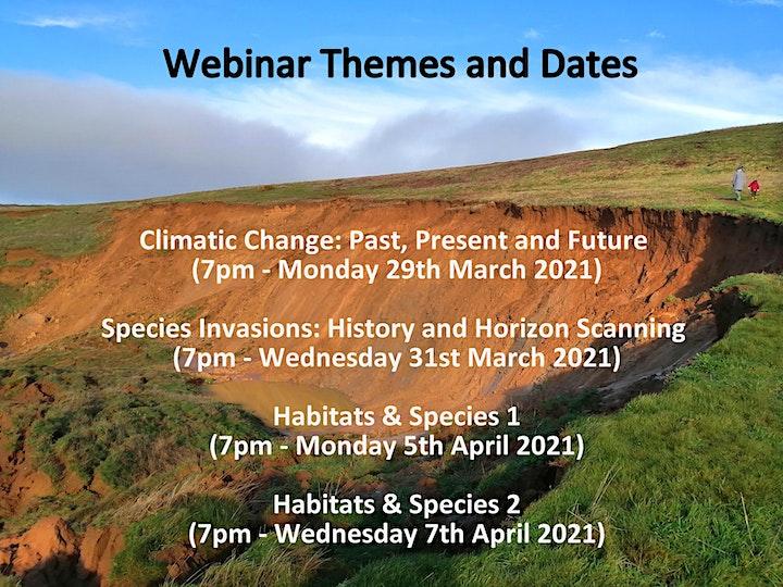 Webinars: Environmental Change on the Isle of Wight: Past, Present & Future image