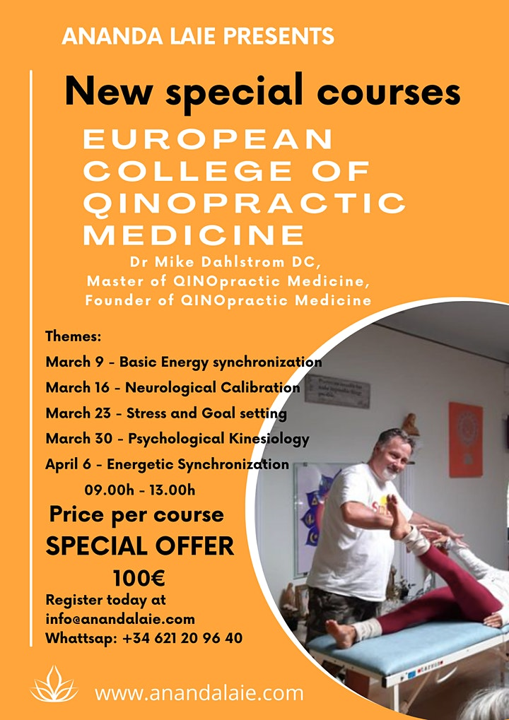 Imagen de European College of QINOpractic Medicine:  New special courses