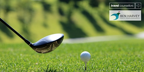 Group Golf Breaks with Travel Counsellors and Ben Harvey Golf Performance tickets