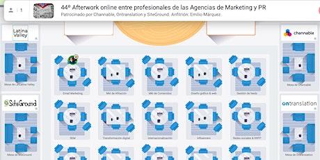 Afterwork online entre profesionales de las Agencias de Marketing y PR tickets