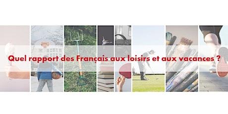 Conférence de presse - Observatoire du rapport des Français aux loisirs billets