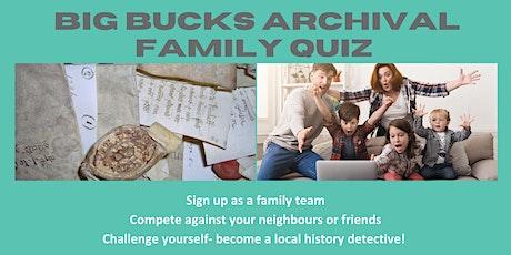 Bucks Archives Big Family Quiz Night tickets