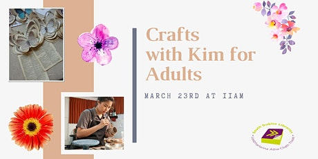 Crafts with Kim for Adults tickets