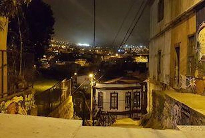 Imagen de Demo de  Acuarela Paisaje Urbano Nocturno -  Gonzalo  Vargas Garrido