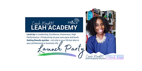 LEAH Academy Launch Party & mini-workshop tickets