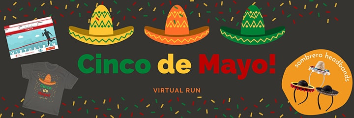 Run Cinco De Mayo Virtual Race image