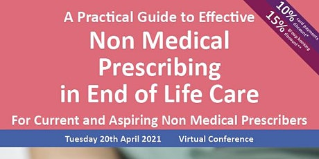 Effective Non Medical Prescribing in End of Life tickets