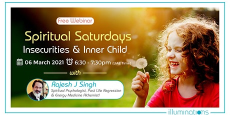 Spiritual Saturdays With Rajesh Singh – Insecurities & Inner Child tickets