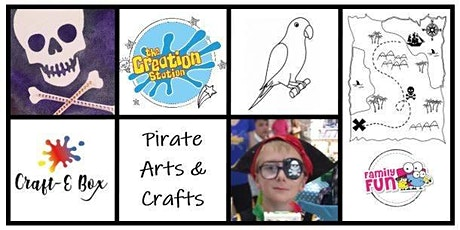 Live Family Workshop- Pirates Arts and Crafts tickets