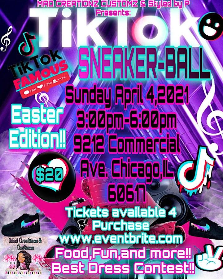 EASTER EDITION !! TIK TOK SNEAKER-BALL!! image