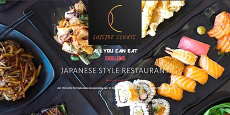 Japanese All you can eat @ Okami Caulfield and park walk (optional) tickets