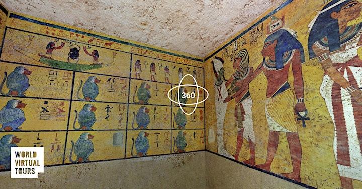 Tutankhamun's Tomb: Ancient Egypt Virtual Tour image