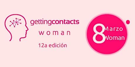 WOMAN gettingcontacts 12 edición biglietti