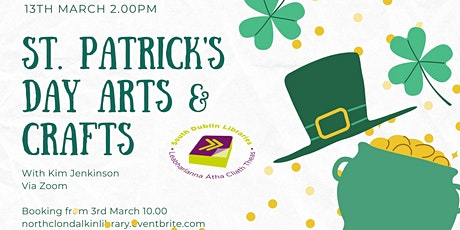 St Patrick's Day arts and crafts tickets
