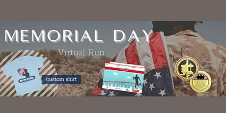 Memorial Day Virtual Run 2021 tickets
