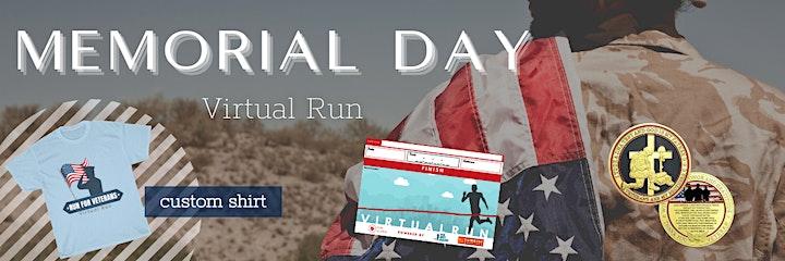 Memorial Day Virtual Run 2021 image