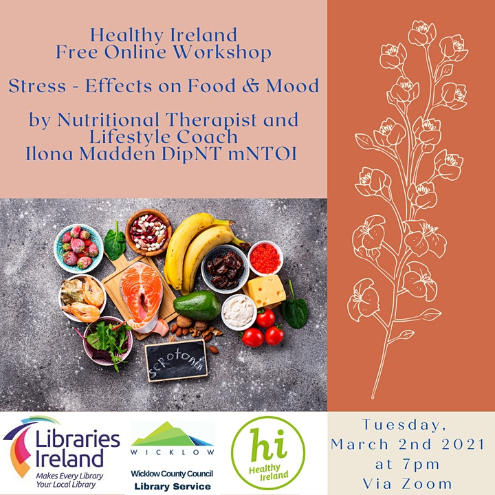 Healthy Ireland Nutrition Workshop on Stress - Effects on Mood and Food image