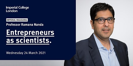 Entrepreneurs as scientists tickets