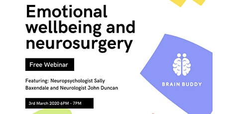 Emotional Wellbeing and Neurosurgery tickets