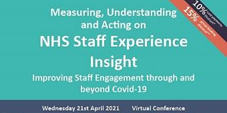 NHS Staff Experience Insight tickets