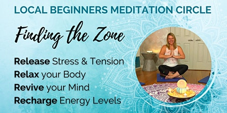 Stress Relief & Energy Recharge Meditation for Beginners tickets