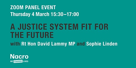 A Justice System Fit for the Future: Leaving Prison, Reoffending & COVID-19 tickets