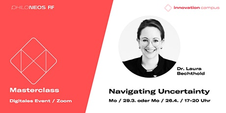 Masterclass: Navigating Uncertainty tickets
