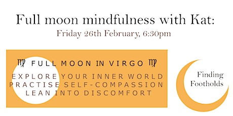 Full Moon Mindfulness with Kat tickets