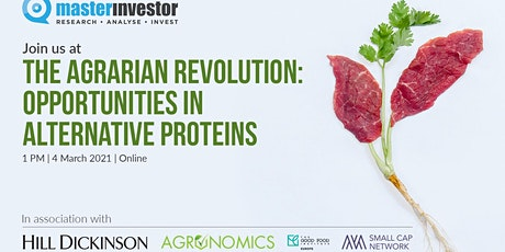 The Agrarian Revolution: Investment Opportunities in Alternative Proteins tickets