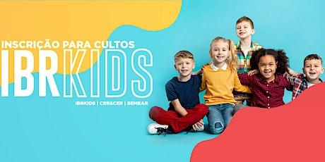 Cultinho SEMEAR  18h00 (crianças de 3 a 5 anos) ingressos