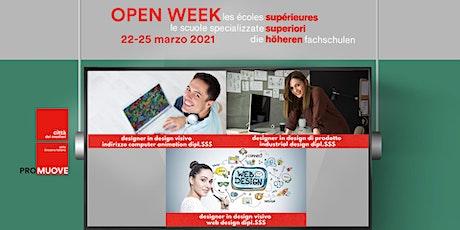 Open Week SSS: la Scuola Specializzata Superiore d'arte applicata biglietti