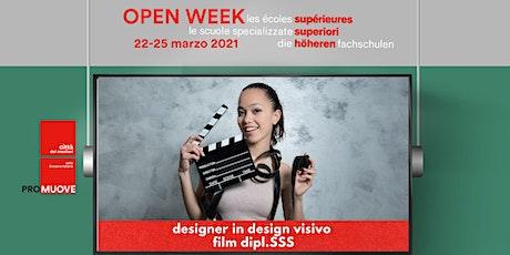 Open Week SSS: Conservatorio Internazionale di Scienze Audiovisive biglietti
