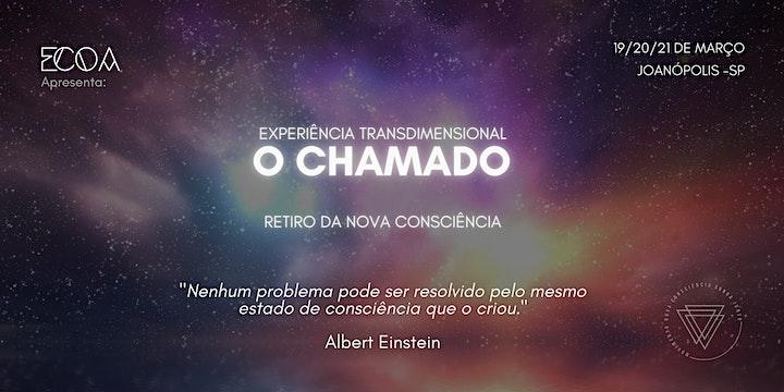 Imagem do evento Experiência Transdimensional O CHAMADO - Retiro da Nova Consciência