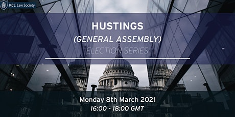 Hustings (General Assembly) tickets